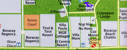 map for boracay courtyard